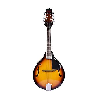 8 Sträng Basswood Delikat Gul Mandolin Instrument