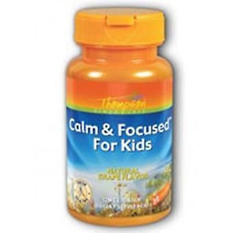 Thompson Calm and Focused For Kids Grape, 30 Chewables
