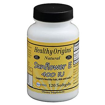 Healthy Origins Sunflower E, 400 IU, 120 Softgels