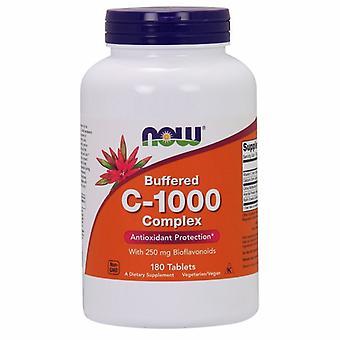 Jetzt Lebensmittel Vitamin C-1000 Komplex, 180 Tabs