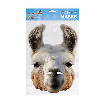 Mask-arade Llama Llama Party Face Mask