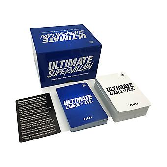 Ultimate Supervillain Card Game