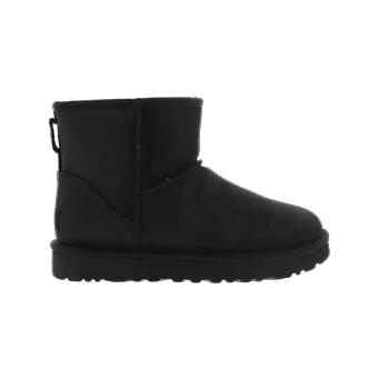 Ugg ClassicMiniLeather Black 1016558BLK chaussure