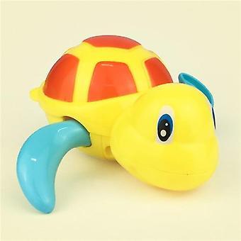 Sød tegneserie, dyr, skildpadde Classic Baby Vand Legetøj Baby Swim Turtle