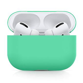 SIFREE Flexible Case for AirPods Pro - Silicone Skin AirPod Case Cover Smooth - Turquoise