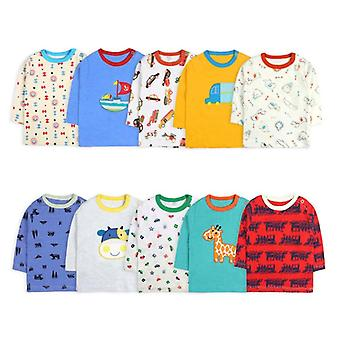 Baby/girl Long Sleeve T-shirt Cartoon Prin O-neck Infant Tops
