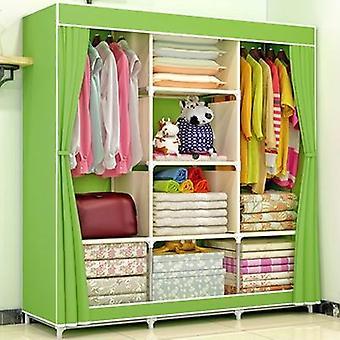 Netkané Fold přenosný úložný nábytek, čtvrt šatní skříň, skříň ložnice