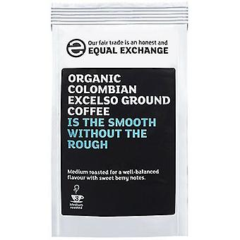 Equal Exchange Organic Colombian Excelso R&G Coffee 227g x8
