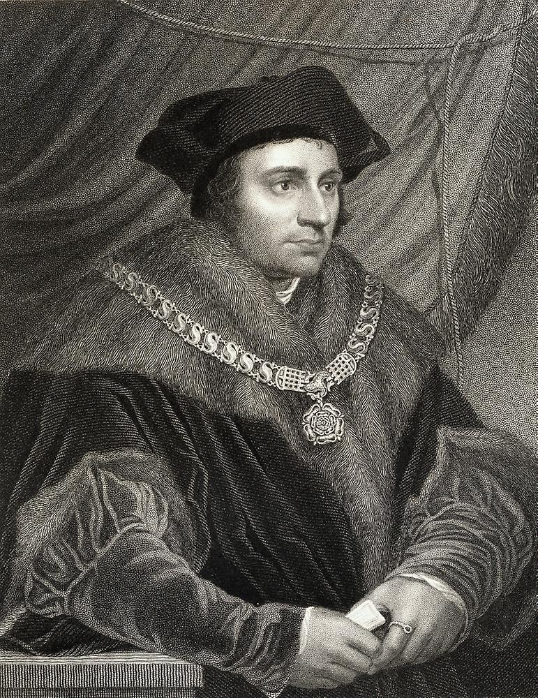 a biography of sir thomas more the lord high chancellor of england Recommended by wolsey, more was elected the speaker of the house of commons in 1523 he later served as high steward for the universities of oxford and cambridge in 1525, he became chancellor of the duchy of lancaster, a position that entailed administrative and judicial control of much of northern england.