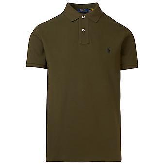Ralph Lauren 710536856263 Mænd's Grøn Bomuld Polo Shirt