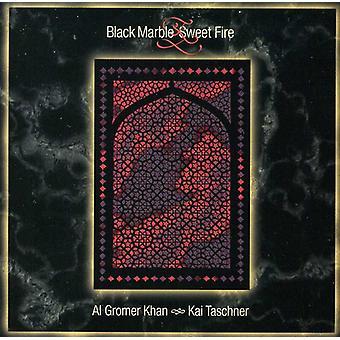 Khan/Taschner - Black Marble & Sweet Fire [CD] USA import