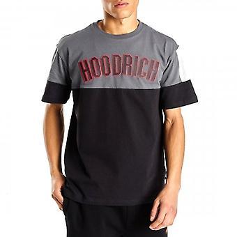 Hoodrich OG Panel V2 T-Shirt Black/Grey/Red