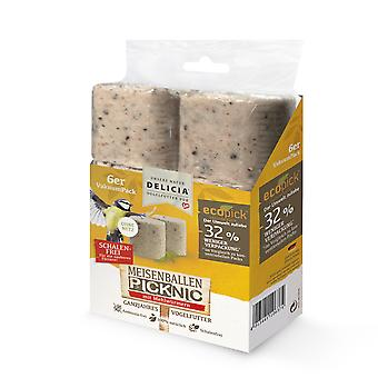 FRUNOL DELICIA® Delicia® bales Picknic with mealworms without net, 6 pieces