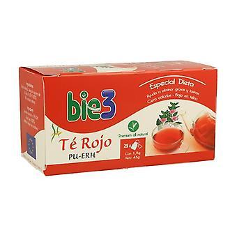 Bio 3 Red Tea 25 infuusiopussit