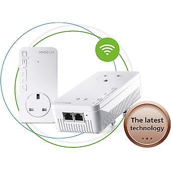 Devolo magic 1-1200 wi-fi ac starter kit: stable home working, high performance powerline kit, mesh