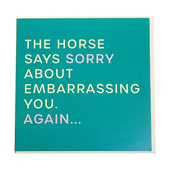 Gubblecote Embarrassing You Greetings Card