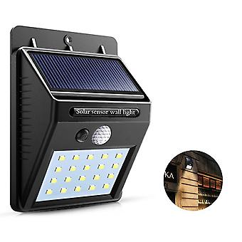 Waterproof Solar Sensor Light Motion Wall Outdoor Garden Yard Streets