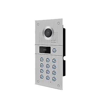 Wired Wifi Video Door Phone, Caméra extérieure Waterproof Wide View Doorbell