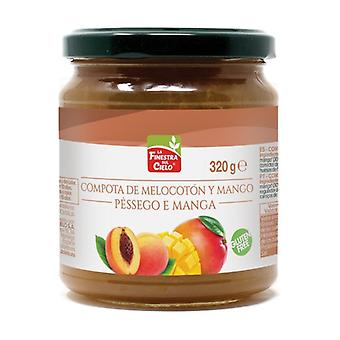 Peach and Mango Puree Bio 320 g