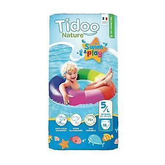 Bath Diapers (T5 / L) 12 / 18kg 11 units