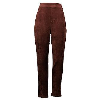 Gloria Vanderbilt Women's Pants Pull-on Cordurouy Deep Wine Red