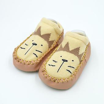 Lasten lasten sukat pehmeä kumipohja