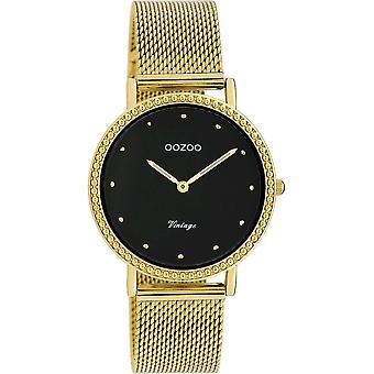 Oozoo - Women's Watch - C20055 - Gold Black