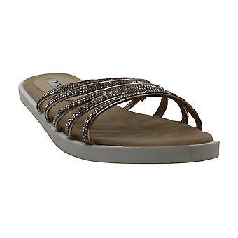 Nina Womens Sabrina Open Toe Casual Slide Sandals