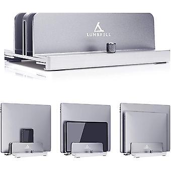 HanFei Vertikaler Laptop-Stnder, Aluminiumlegierung, platzsparender Stnder, kompatibel mit iPad