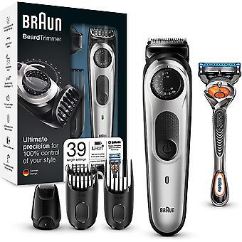 FengChun Barttrimmer und Haarschneider BT5065, 39 Lngeneinstellungen, AutoSense-Technologie,