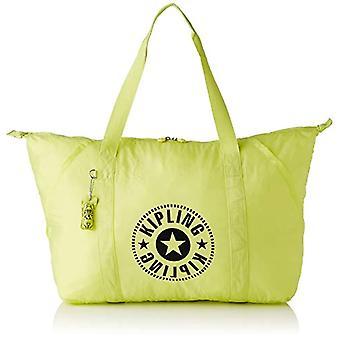 Kipling TOTEPACK, Kvinders lange håndtag Taske, Lime Green, One Size