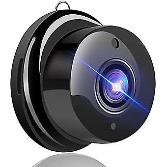 Mini Spy Kamera HD 1080p Langaton WiFi Kodin Turvakamera DVR Night Vision Kompakti Ulkona / Sisävideonauhuri (musta)