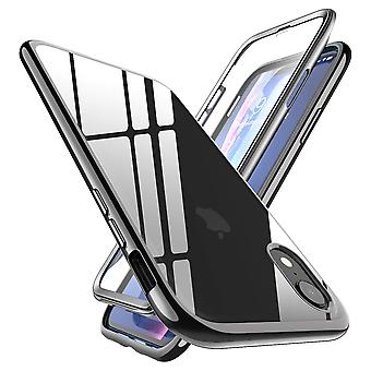 iPhone XR Unicorn Beetle Electro Clear Case (Negro)