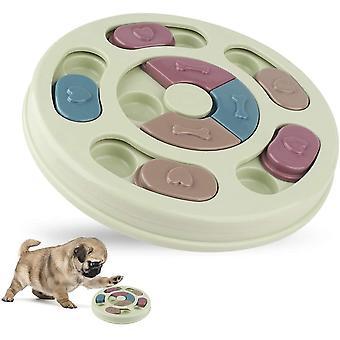 Puzzle-Futterstation für Hunde, interaktives Hundespielzeug, Welpenerchenspender, gegen