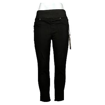 DG2 by Diane Gilman Women's Jeans Petite Ultra Skinny Jegging Black 733923