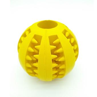 Pet Dog Stretch Rubber Leaking Ball