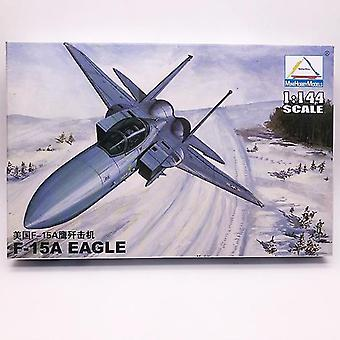 new 80422 usa f-15a fighter military plastic assembly aircraft model sm47513