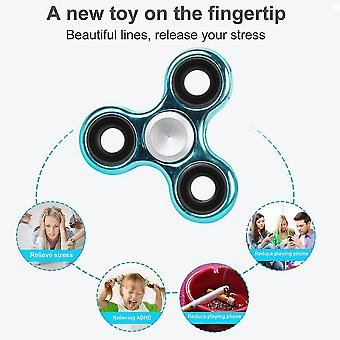 Fingerspitze Finger Spielzeug Lager Dreieck finger Spinner Suppetoys Hand Spinner