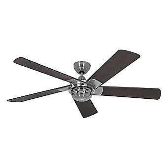 Ventilatore a soffitto Rotativo Chrome / Wenge con telecomando