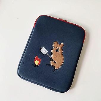 Nouveau sac de doublur koala coréen pour iPad 12.9 pouces Bande dessinée Pochette de style ins (13 pouces)