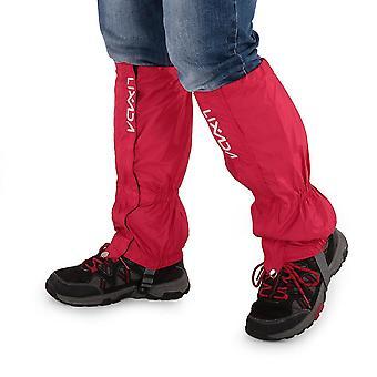 Waterproof gaiters cycling leg warmers leg cover camping hiking ski boot travel shoe snow hunting climbing gaiters