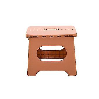 Tabouret pliant - Tabouret pliable premium robuste pour les enfants et les adultes (rose)