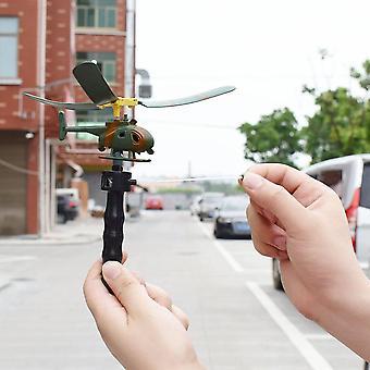 طائرة تلعب طائرة بدون طيار نموذج الطيران المروحية مقبض سحب طائرة هليكوبتر