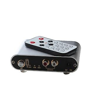 Audio Signal Selector Remote Switch For Amplifier