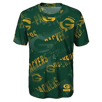Kinder NFL Dri-Tek Shirt - NOISE Green Bay Packers