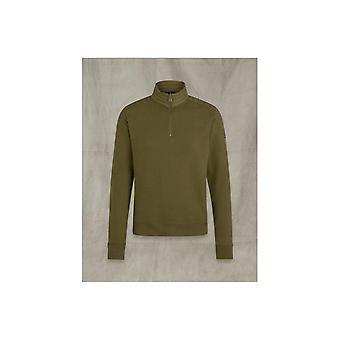 Belstaff Jaxon Quarter Zip Sweatshirt