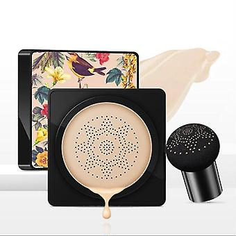 New Women Mushroom BB Whitening Compact Foundation Concealer Prevent Bask Skin Care(Natural Color)