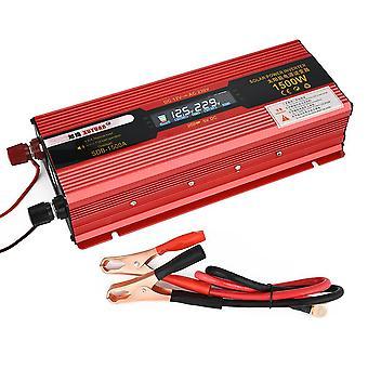 Xuyuan Car Inverter Dc 12v 50hz Red Power Inverter avec écran d'affichage