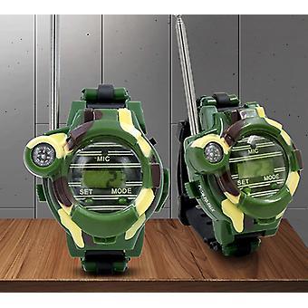 トランシーバーアウトドアマルチファンクションワイヤレスウォッチカモフラージュトランシーバーおもちゃ