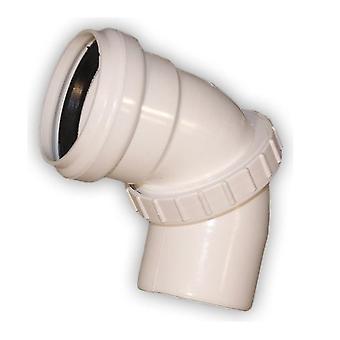 Coude universel réglable connecteur tuyauterie Installation du système d'épuration